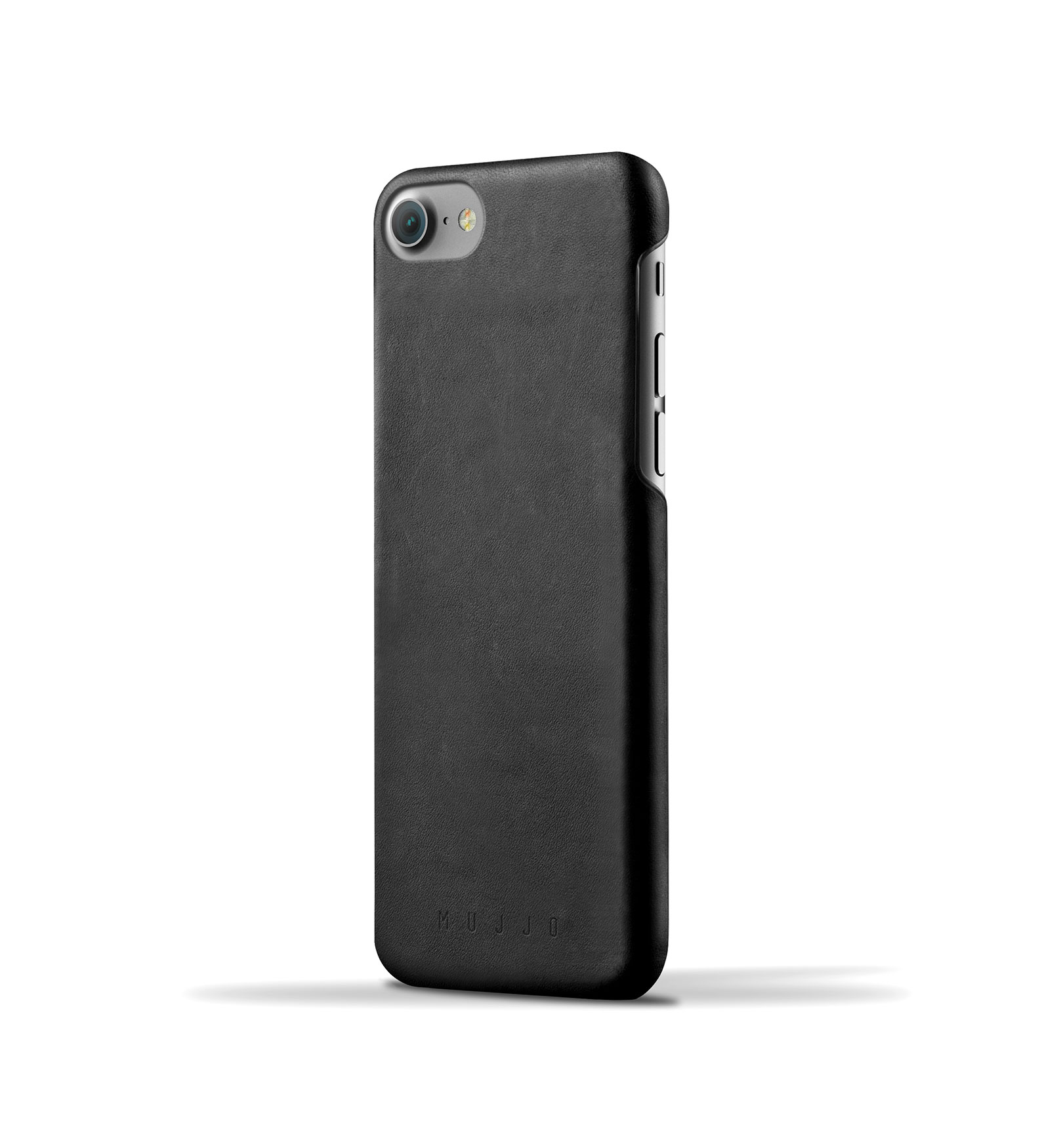Mujjo Leather Case iPhone 7 Black