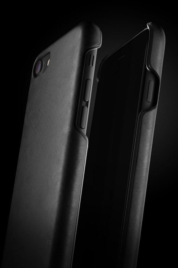 Mujjo Leather Case iPhone 7 Black