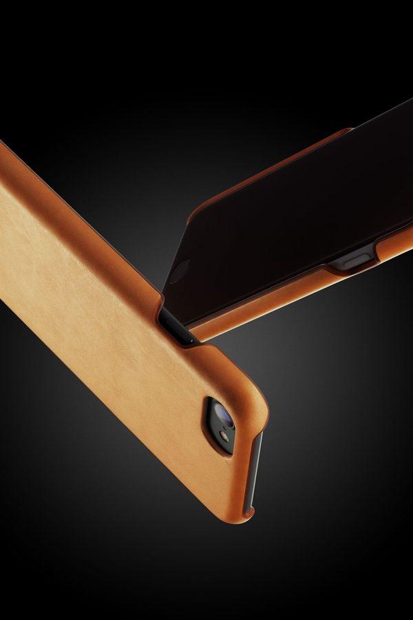 Mujjo Leather Case iPhone 7 Tan