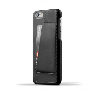 Mujjo Leather Wallet Case 80 ° Apple iPhone 6 / 6s Black