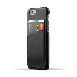 Mujjo Leather Wallet Case Apple iPhone 6 / 6s Black