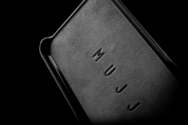 Mujjo Leather Wallet Case iPhone 7 Black