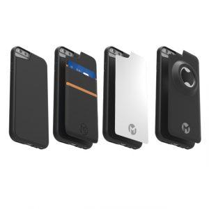 Kleefhoesje Megaverse Anti-Gravity iPhone Plus Case Megapack 4 in 1 iPhone 6 Plus / 6s Plus / 7 Plus