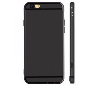 Ultra Thin Case Hoesje iPhone 6/6s Zwart