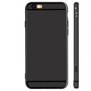 Ultra Thin Case Hoesje iPhone 6/6s Zwart