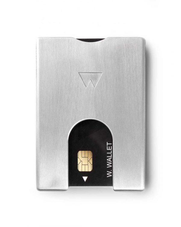 Walter Wallet Aluminium Pasjeshouder met RFID Shield - Bye bye skimmers!