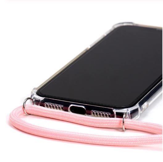 iPhone case transparant keycord
