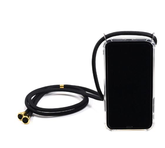 iPhone case transparant keycord