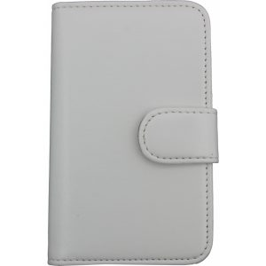 Mobilize Wallet Book Case HTC Desire C White