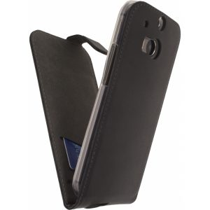 Mobilize Classic Gelly Flip Case HTC One M8/M8s Black