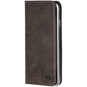 Senza Raw Leather Booklet Apple iPhone 6/6S Walnut Brown