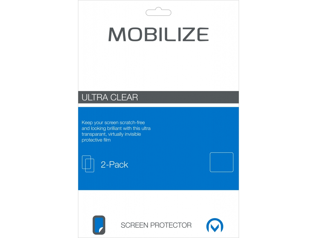 Mobilize Clear 2-pack Screen Protector Samsung Galaxy Tab S 8.4
