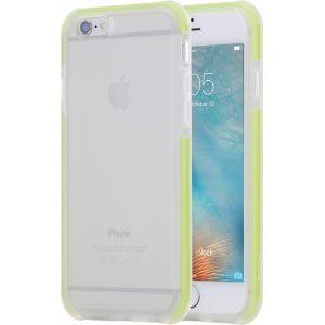 Rock Guard Case Apple iPhone 6/6S Transparent/Green