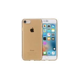 Rock Ultrathin TPU Slim Jacket Apple iPhone 7/8/SE (2020) Transparent Gold