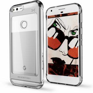 Ghostek Cloak 2 Protective Case Google Pixel XL Silver