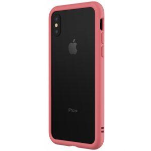 Rhinoshield Crash Guard Bumper Apple iPhone X Coral Pink