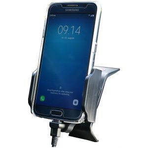 64410 Kram Fix2Car Adjustable Active Holder incl. 2.1A Micro USB Car Charger 58-95mm