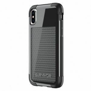 TA43858 Griffin Survivor Fit Case Apple iPhone X Black/Black