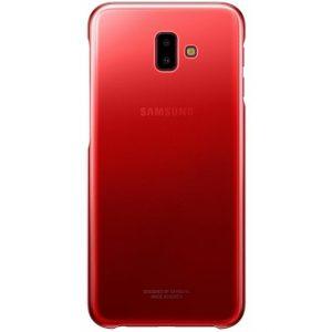EF-AJ610CREGWW Samsung Gradation Cover Galaxy J6+ Red
