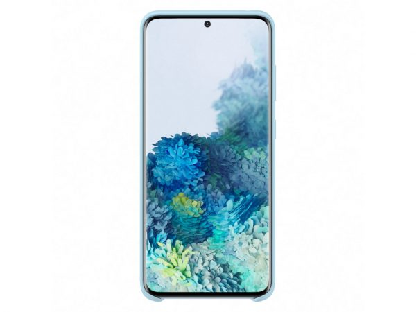 EF-PG980TLEGEU Samsung Silicone Cover Galaxy S20/S20 5G Sky Blue