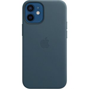 MHK83ZM/A Apple Leather Case with MagSafe iPhone 12 Mini Baltic Blue