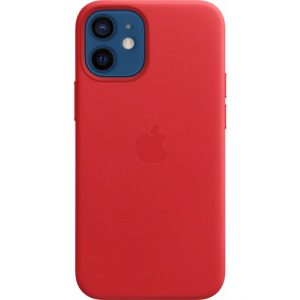 MHK73ZM/A Apple Leather Case with MagSafe iPhone 12 Mini (PRODUCT) Red