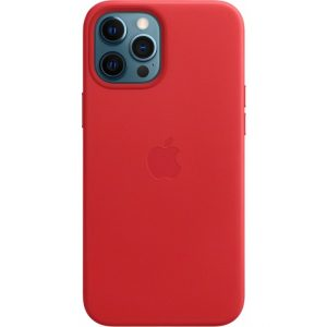 MHKJ3ZM/A Apple Leather Case with MagSafe iPhone 12 Pro Max (PRODUCT) Red