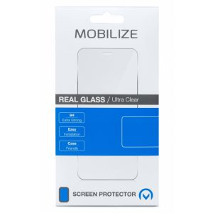 Mobilize Glass Screen Protector - Black Frame - Nokia 6.2/7.2
