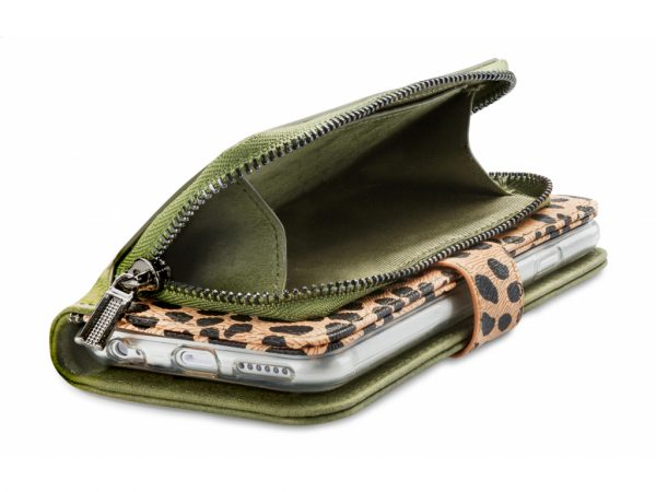 Mobilize 2in1 Gelly Zipper Case Apple iPhone 11 Olive/Leopard
