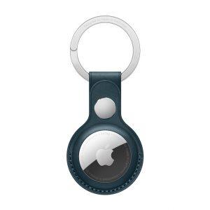 MHJ23ZM/A Apple Airtag Leather Keychain Baltic Blue