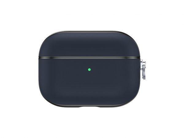 Valenta Leather Snap Case Apple Airpod Pro Blue