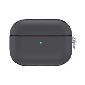 Valenta Leather Snap Case Apple Airpod Pro Grey