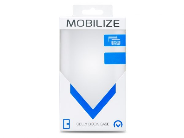 Mobilize Classic Gelly Wallet Book Case Honor 50 Pro Black