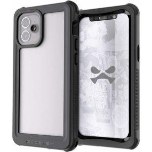 Ghostek Nautical 3 Waterproof Case Apple iPhone 12 Mini Clear