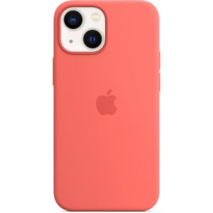 MM1V3ZM/A Apple Silicone Case with MagSafe iPhone 13 Mini Pink Pomelo