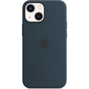 MM213ZM/A Apple Silicone Case with MagSafe iPhone 13 Mini Abyss Blue